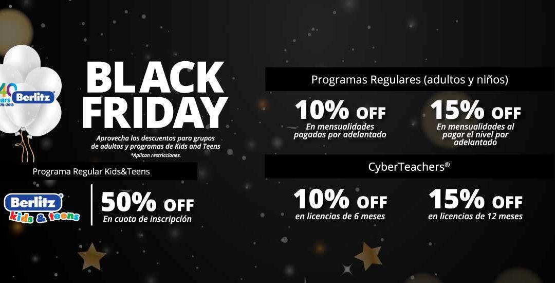 Descuentos Black Friday 2018