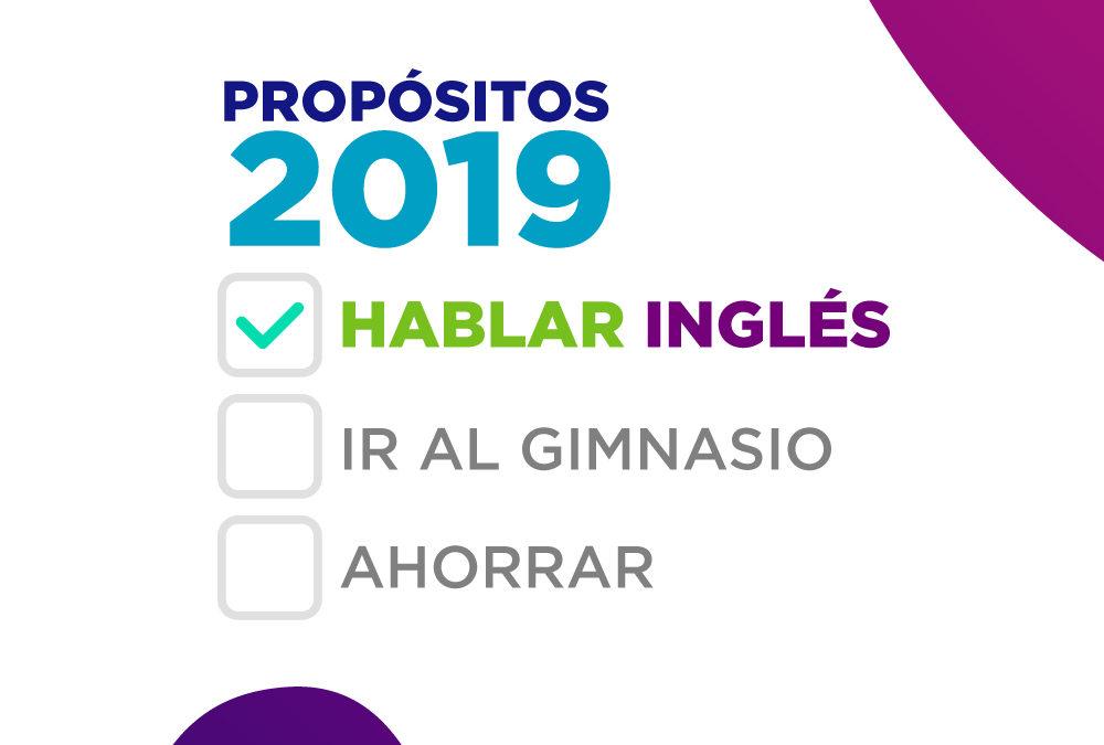 ¡Aprende inglés en este 2019!