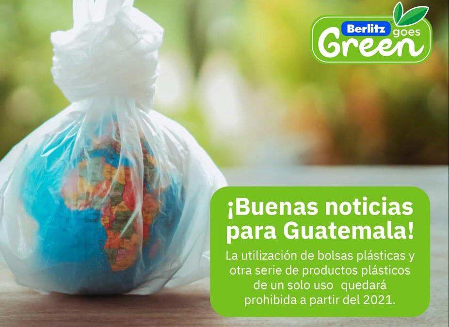 ¡Buenas noticias para Guatemala! Se prohibirán las bolsas plásticas y otra serie de productos de un solo uso a partir del 2021.